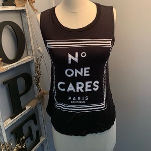 """""""NO ONE CARES """"BY BLU PLANET"""